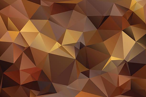 abstrakte geometrische hintergrund - dunkelbraun stock-grafiken, -clipart, -cartoons und -symbole