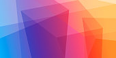 Colorful abstract gradient background.