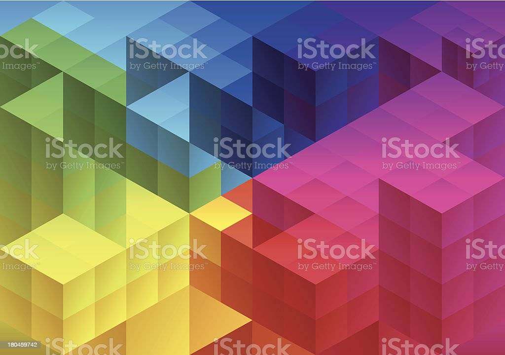 Abstract geometric background, vector royalty-free stock vector art