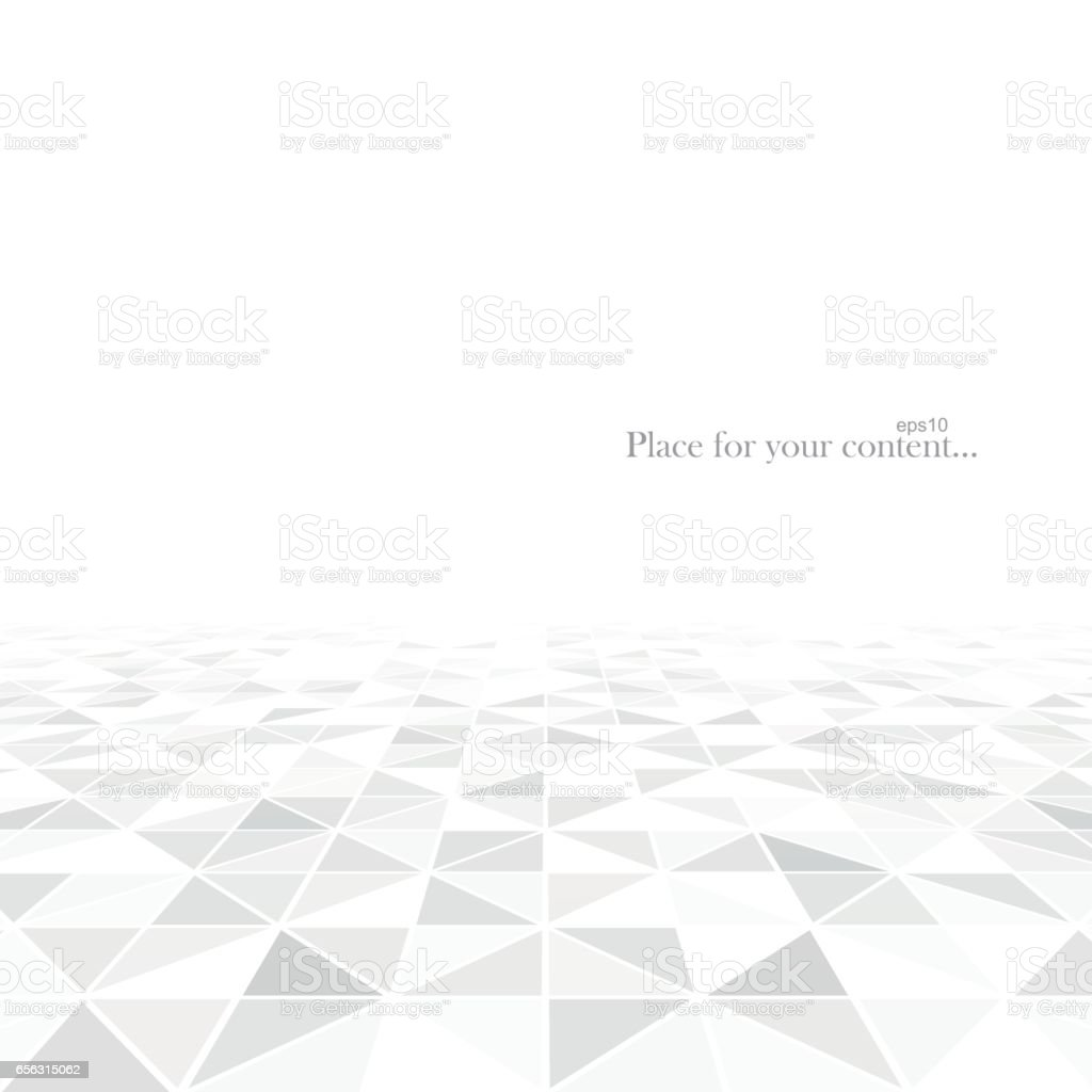 Abstract geometric background with a perspective.