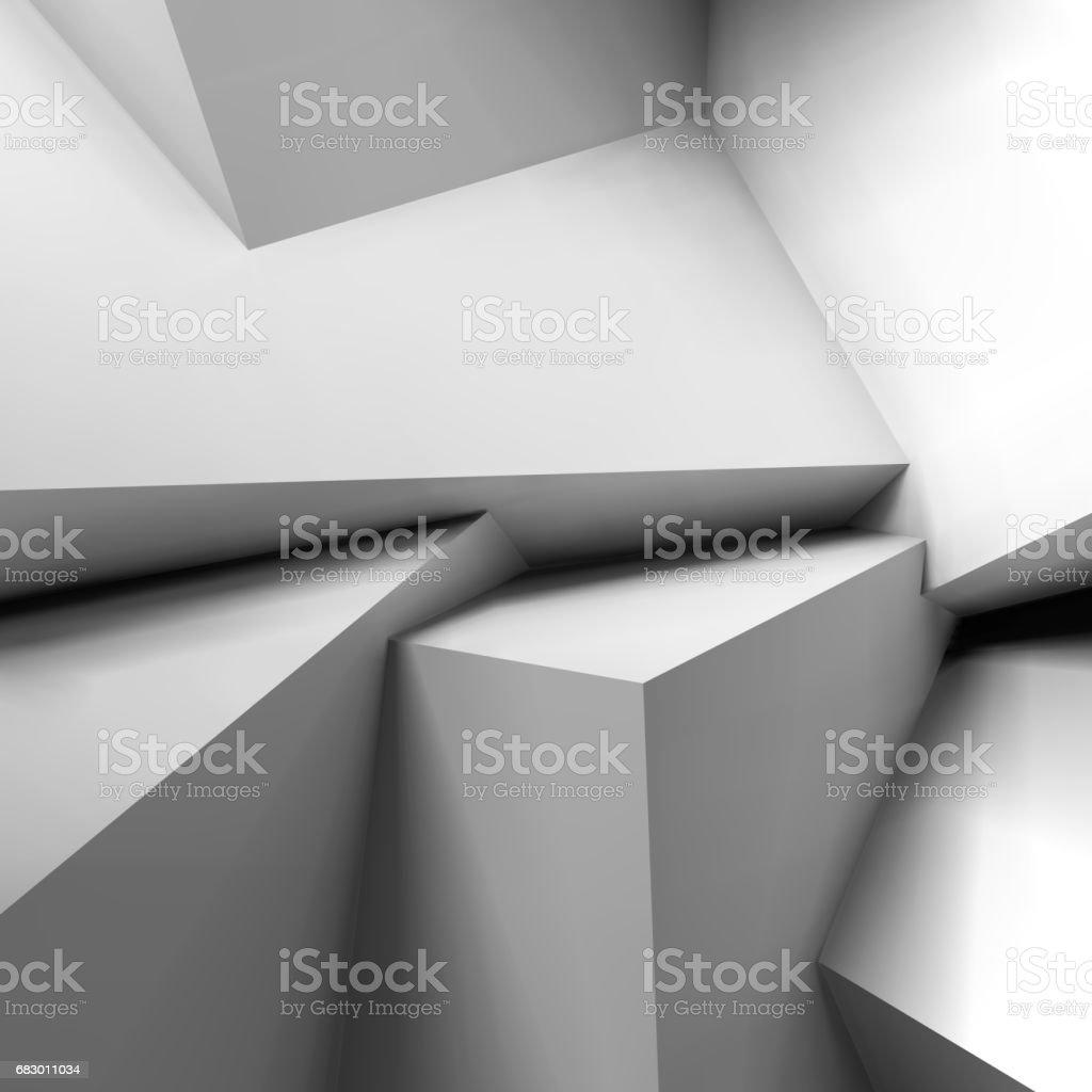 Abstract geometric background with overlapping cubes abstract geometric background with overlapping cubes - arte vetorial de stock e mais imagens de abstrato royalty-free