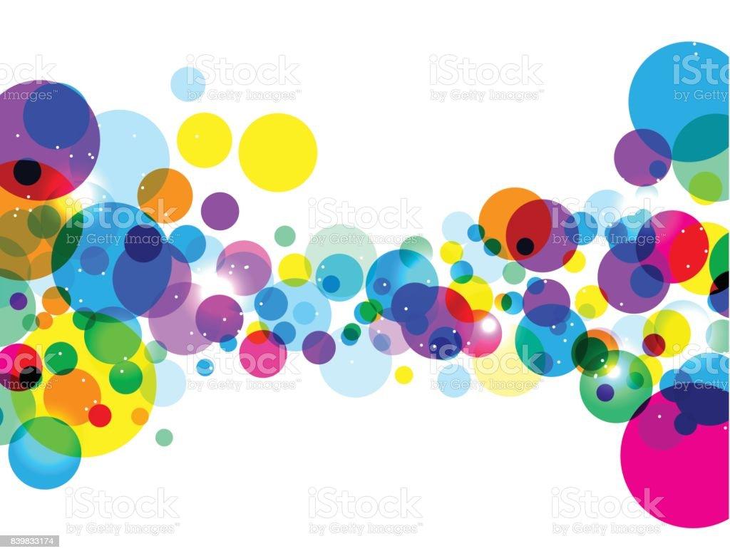 Fondo abstracto geométrico con lugar para tu texto. - ilustración de arte vectorial