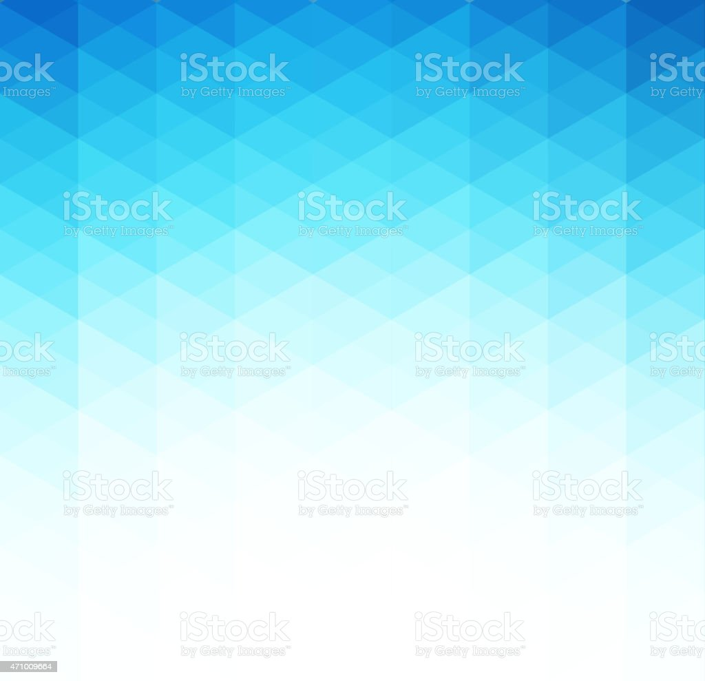 Abstract geometric background with triangles shapes vector art illustration