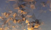 Abstract geometric background with triangular polygons. PDF file is included.