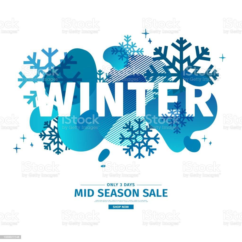 Abstrakte Geometrische Muster Für Den Winter Weihnachten Angebot