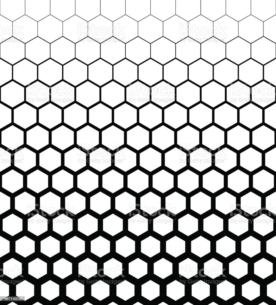 abstract geometric design halftone seamless pattern vector