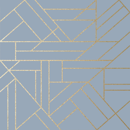 Abstract Geometric Gold Line Art Background. Golden invitation, brochure or banner with minimalistic geometric style. Gold lines, Glitter, Frame, Vector Fashion Wallpaper, Poster. Abstract Rectangle Green Toned Acrylic Painting Background.
