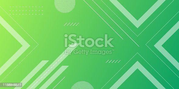 Abstract Background with trendy Shape for banner, landing page, poster