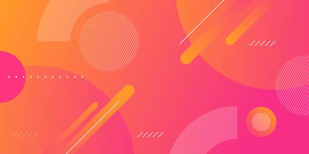 ilustraciones, imágenes clip art, dibujos animados e iconos de stock de fondo abstracto de la forma del degradado geométrico - abstract background