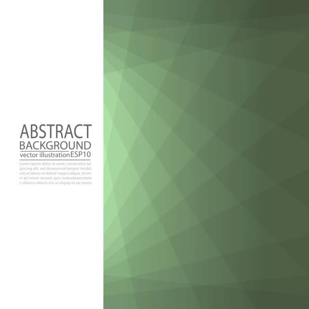 抽象幾何綠色背景從線和菱形為螢幕保護裝置程式, 橫幅, 文章, 崗位, 紋理, 樣式向量藝術插圖