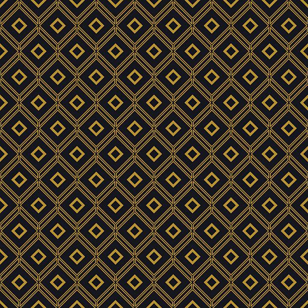 abstrakte geometrische gittermuster - rankgitter stock-grafiken, -clipart, -cartoons und -symbole
