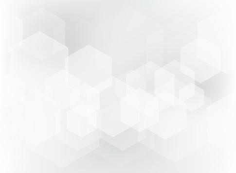 흰색과 회색 배경에 추상적인 기하학적 육각 오버레이 패턴입니다 0명에 대한 스톡 벡터 아트 및 기타 이미지