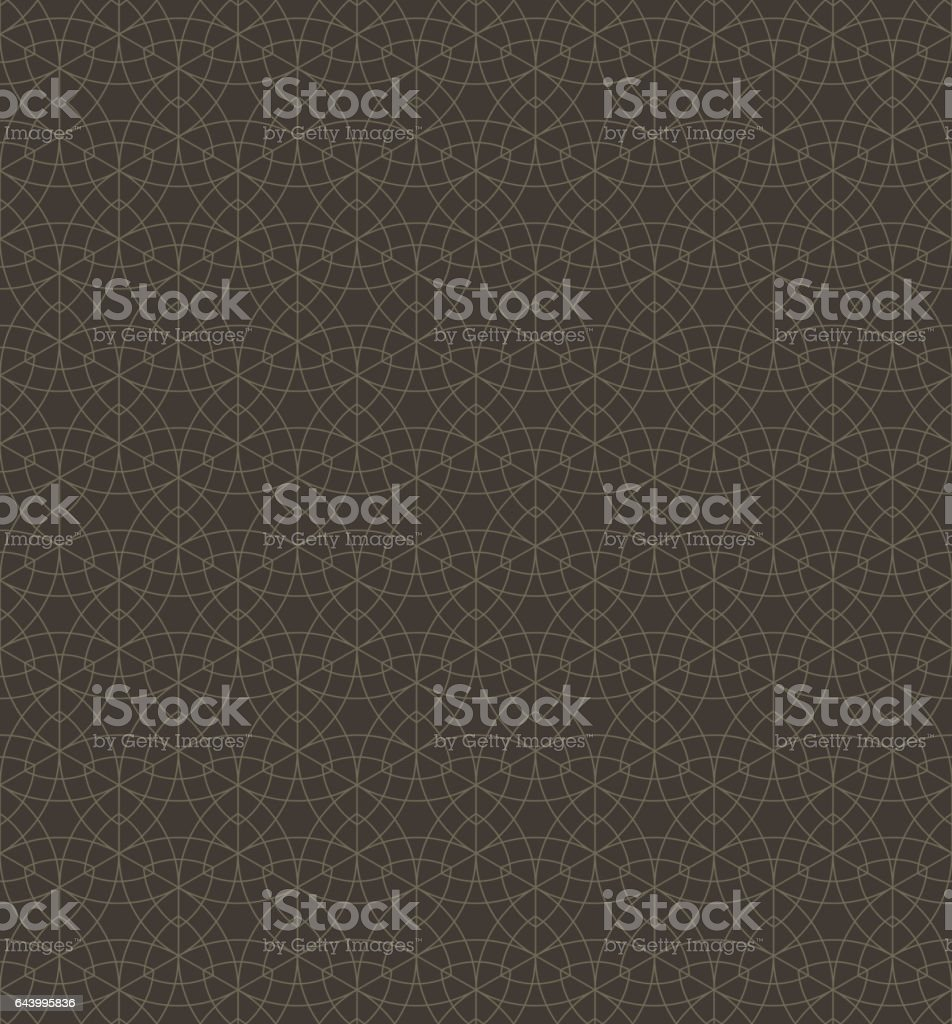 Abstract geometric line seamless pattern textured background vector art illustration