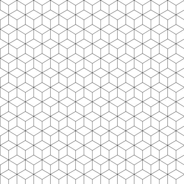 Abstract  geometric on white background vector art illustration