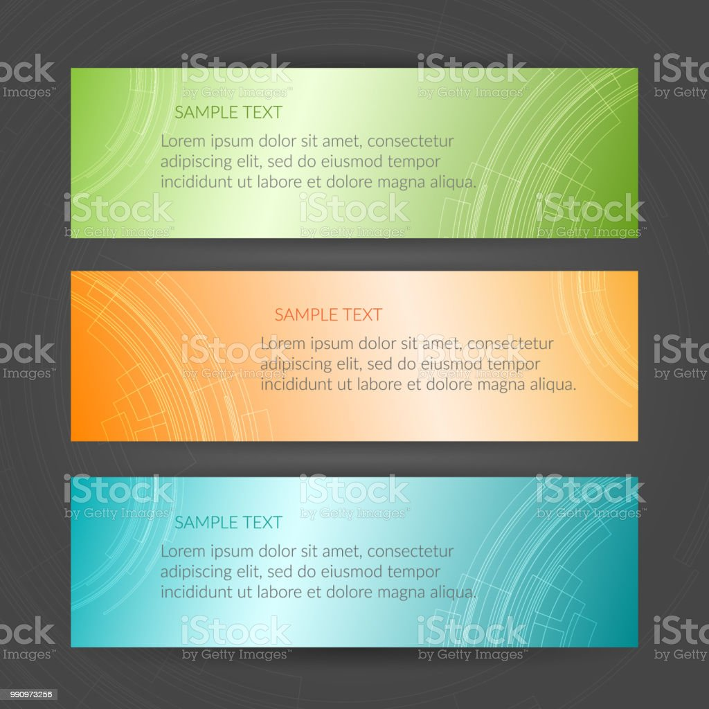Abstract geometric orange blue green banner graphic element of the abstract geometric orange blue green banner graphic element of the design of templates header business cards colourmoves