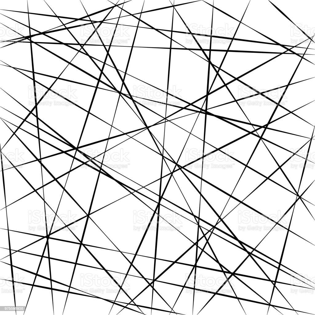 Abstract geometric pattern, random random stripe lines, vector background intersecting diagonal stripe lines different angle vector art illustration