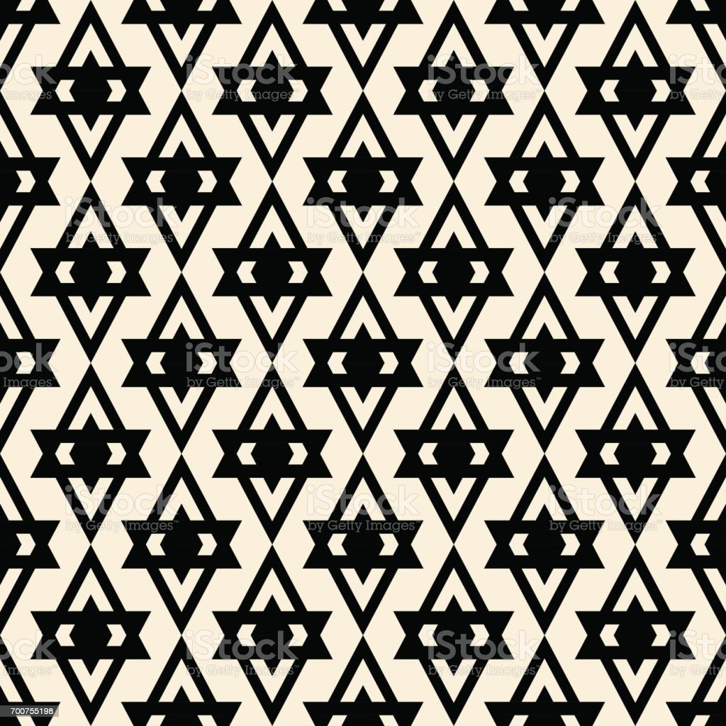 Abstract geometric pattern. vector art illustration