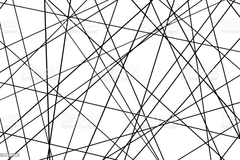 抽象的な幾何学模様 - まっすぐ...