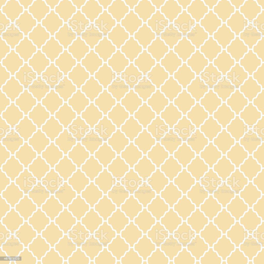 Abstract geometric pattern (tiling). Vector seamless vintage vector art illustration