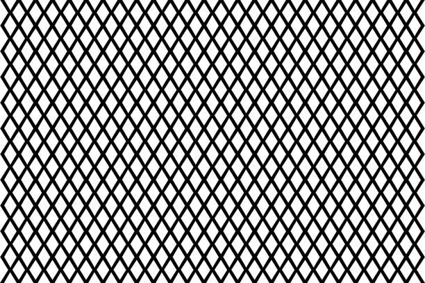 stockillustraties, clipart, cartoons en iconen met abstracte geometrische patroon met lijnen - maaswerk