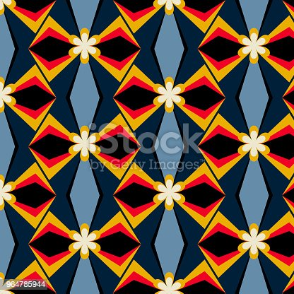 Abstract Geometric Patterns Stock Vector Art & More Images of Abstract 964785944