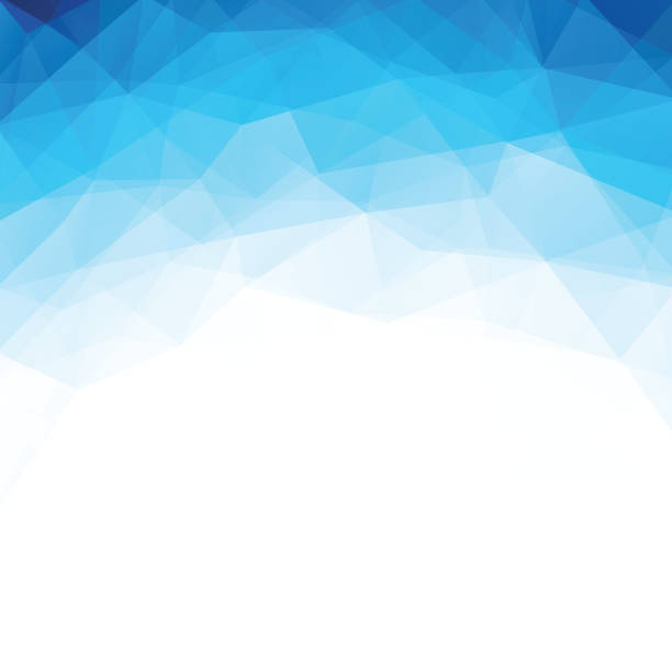 Abstract geometric polygonal background. vector art illustration
