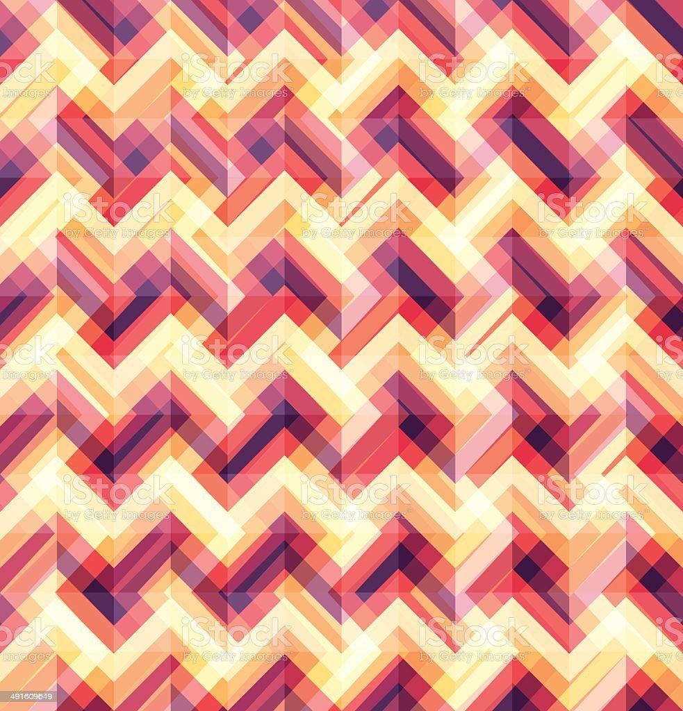 Abstract Geometric Seamless Pattern Background Vector Illustrati royalty-free stock vector art