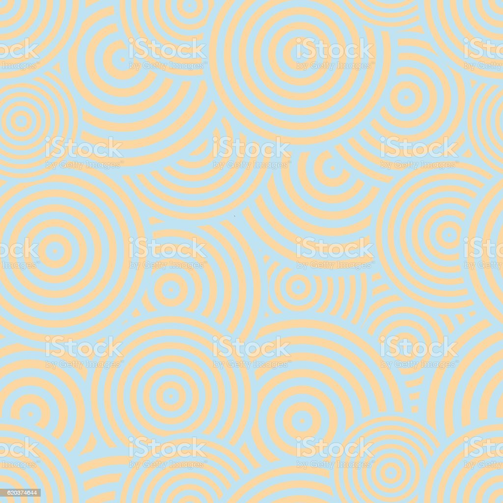 Abstract geometric seamless pattern - chaotic circles abstract geometric seamless pattern chaotic circles - arte vetorial de stock e mais imagens de abstrato royalty-free