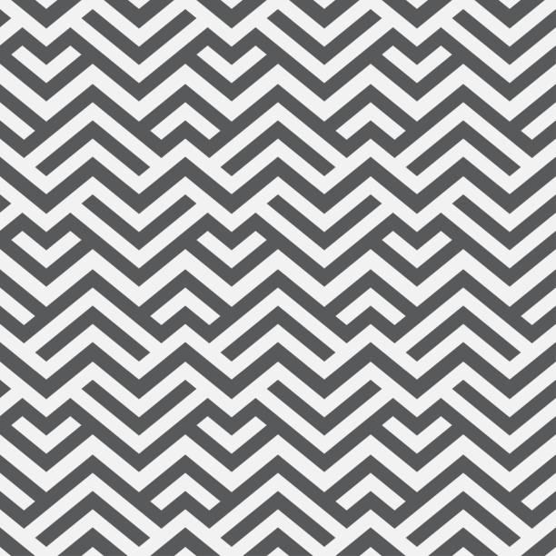 abstrakte geometrische nahtlose muster. - rankgitter stock-grafiken, -clipart, -cartoons und -symbole