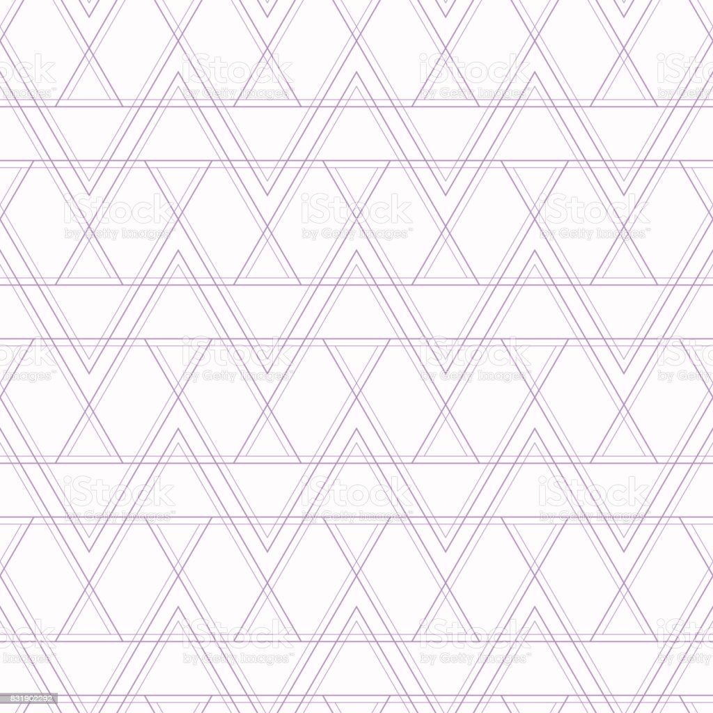 Abstract geometric seamless pattern with lines. vector art illustration
