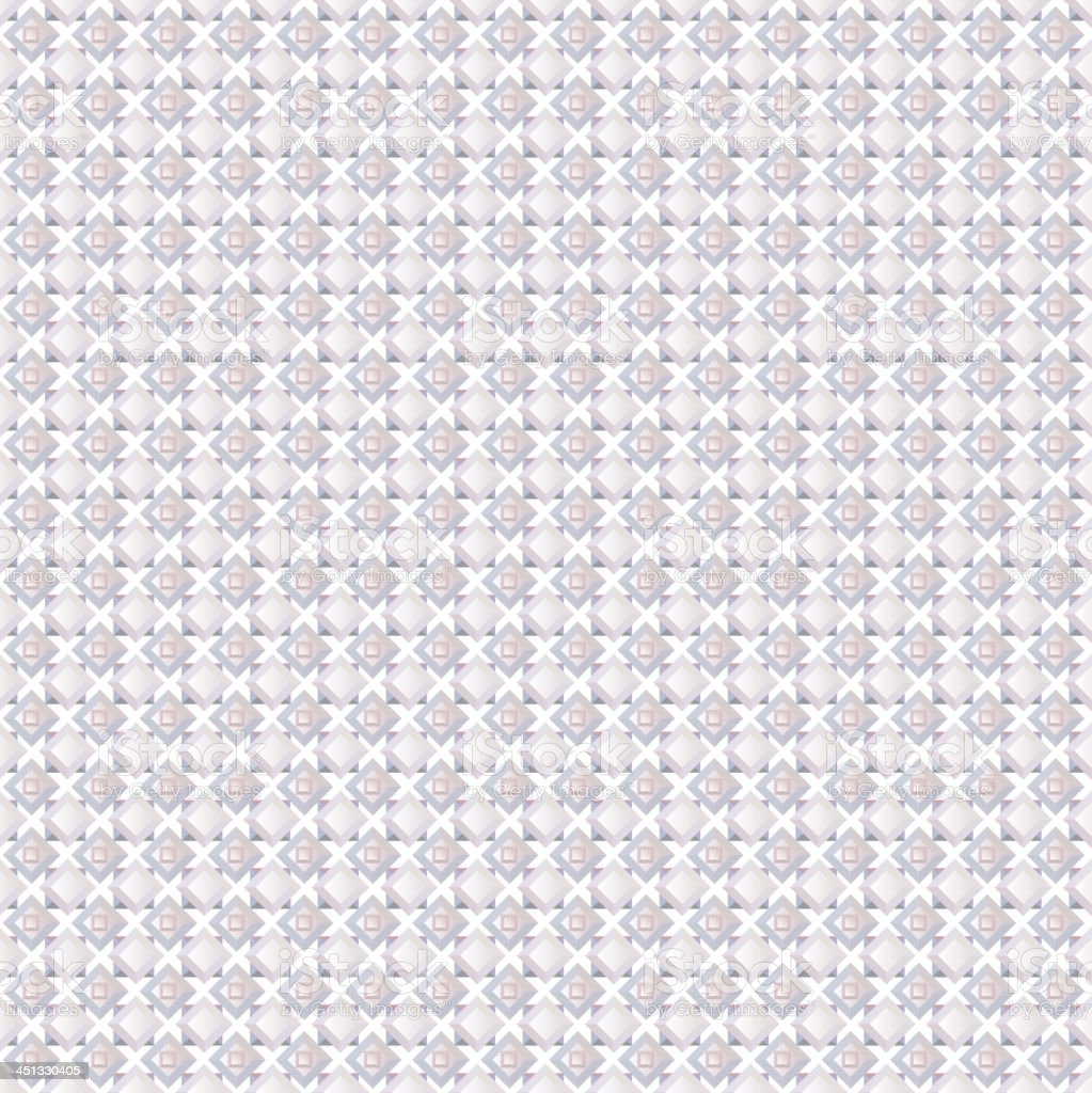 Abstract geometric seamless tile pattern grey and white royalty-free stock vector art