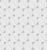 Abstract geometric seamless tile pattern in retro style