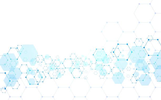 抽象的な幾何学的形状技術の背景 - image点のイラスト素材/クリップアート素材/マンガ素材/アイコン素材