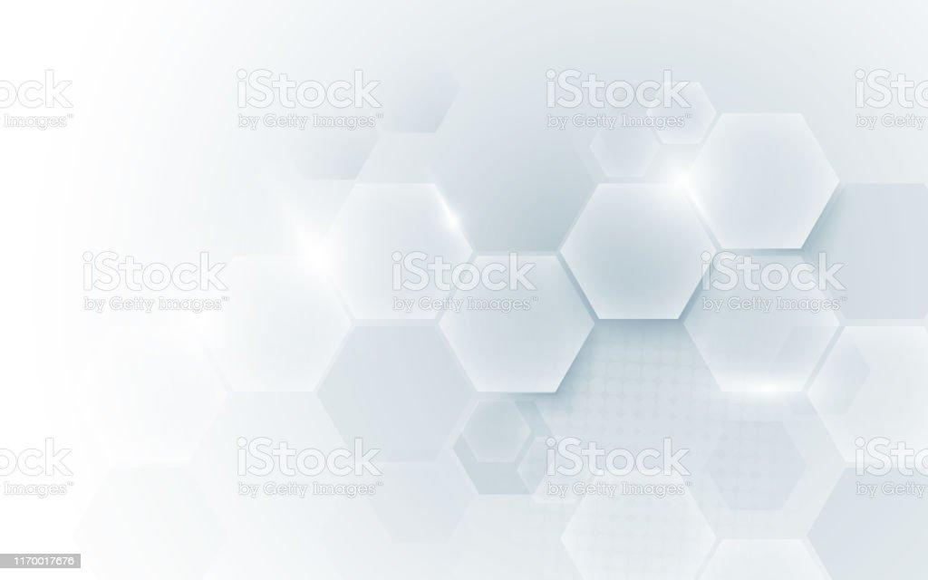 Fundo digital abstrato da tecnologia da forma geométrica do conceito Oi. Espaço para o seu texto - Vetor de Abstrato royalty-free