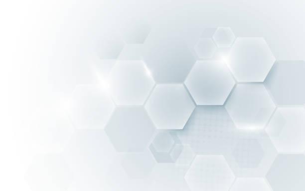 illustrazioni stock, clip art, cartoni animati e icone di tendenza di sfondo del concetto digitale hi tech della tecnologia astratti della forma geometrica. spazio per il testo - sfondi