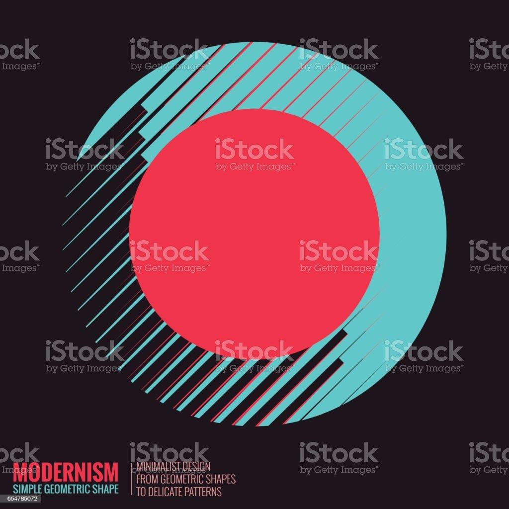 Abstract Geometric Shape vector art illustration