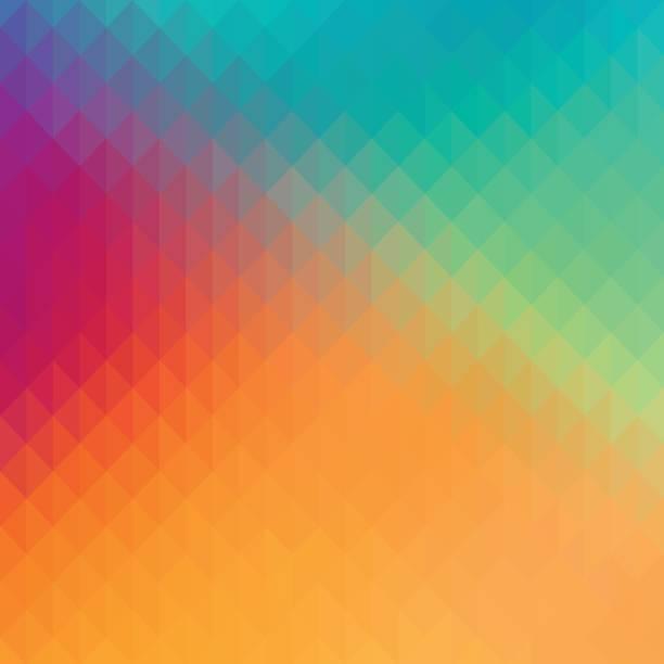 ilustrações, clipart, desenhos animados e ícones de abstrato geométrico formas de fundo com cores pastel. - planos de fundo coloridos