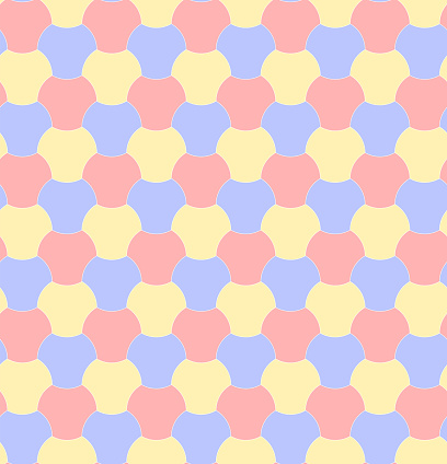 abstract geometric shapes. vector seamless pattern. pastel colored baby repetitive background. fabric swatch. wrapping paper. continuous print. design element for home decor, textile, cloth, apparel