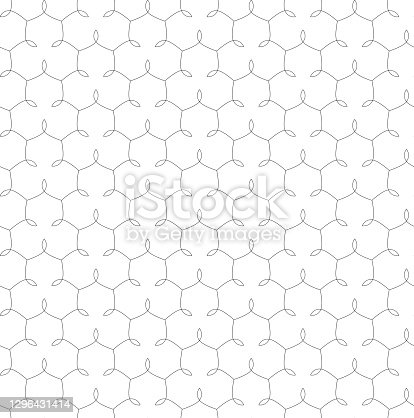 abstract geometric shapes with leaves. modern stylish texture. vector seamless pattern. black white repetitive background. fabric swatch. wrapping paper. continuous print. design element for apparel