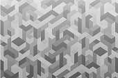 Abstract Geometric Technology Background