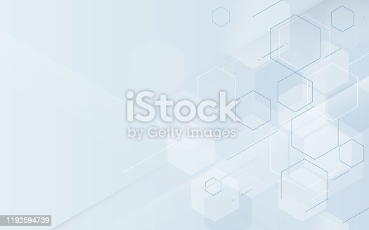 Abstract geometric technology digital hi tech concept background. Space for your text