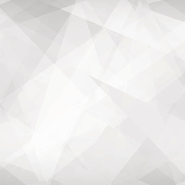 abstract geometric vector background in various gray tones - angle stock illustrations