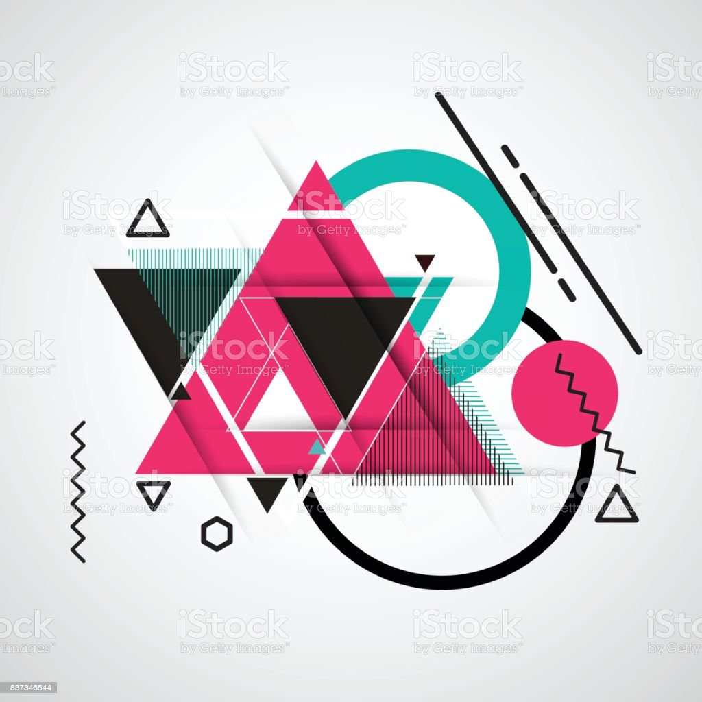 abstract-geometric-vector-background-with-triangles-vector-id837346544 Trends For Geometric Vector Artwork @koolgadgetz.com.info