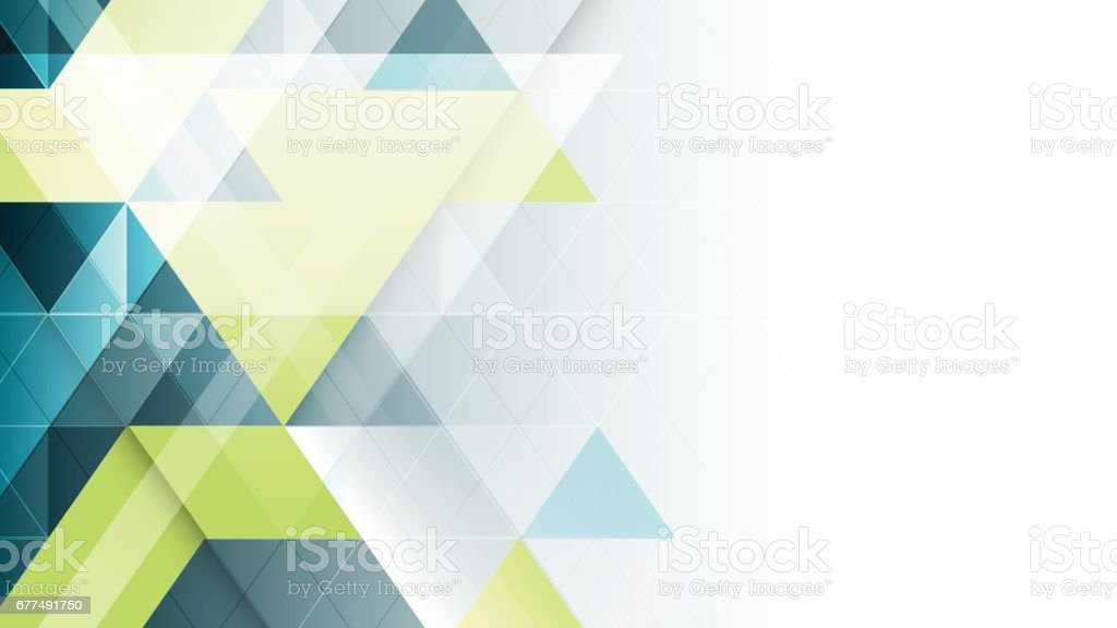 Abstract geometric vector banner. vector art illustration