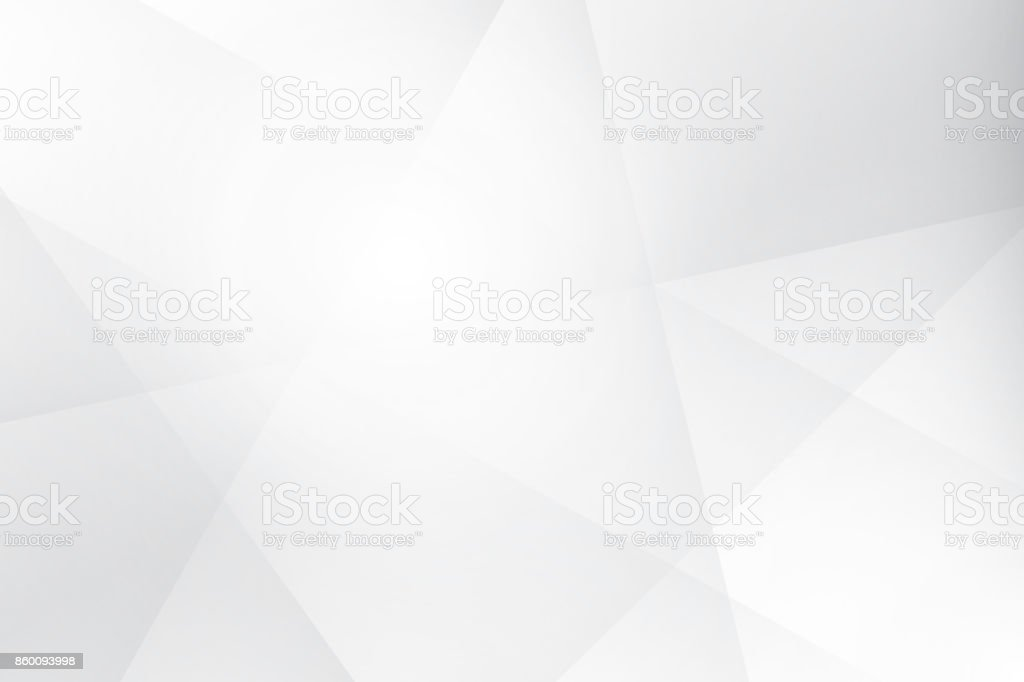 Abstract geometric white and gray color background, vector illustration. vector art illustration