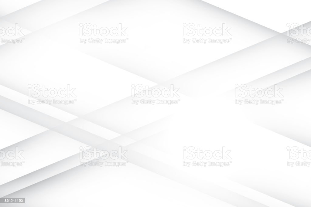 Abstract geometric white and gray color background, vector illustration. royalty-free abstract geometric white and gray color background vector illustration stock vector art & more images of abstract