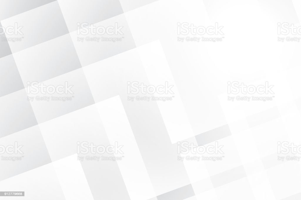 Abstract Geometric White And Gray Color Background Vector Illustration Royalty Free