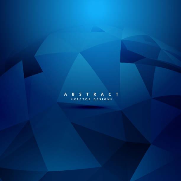 abstract geometrical 3d shapes background - ilustração de arte em vetor