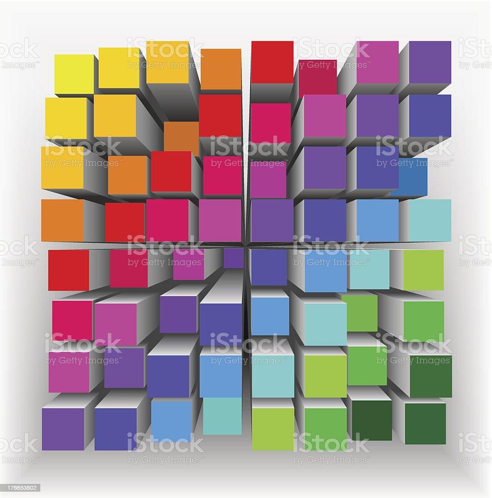 Abstracto geométrico forma. ilustración de abstracto geométrico forma y más banco de imágenes de abstracto libre de derechos