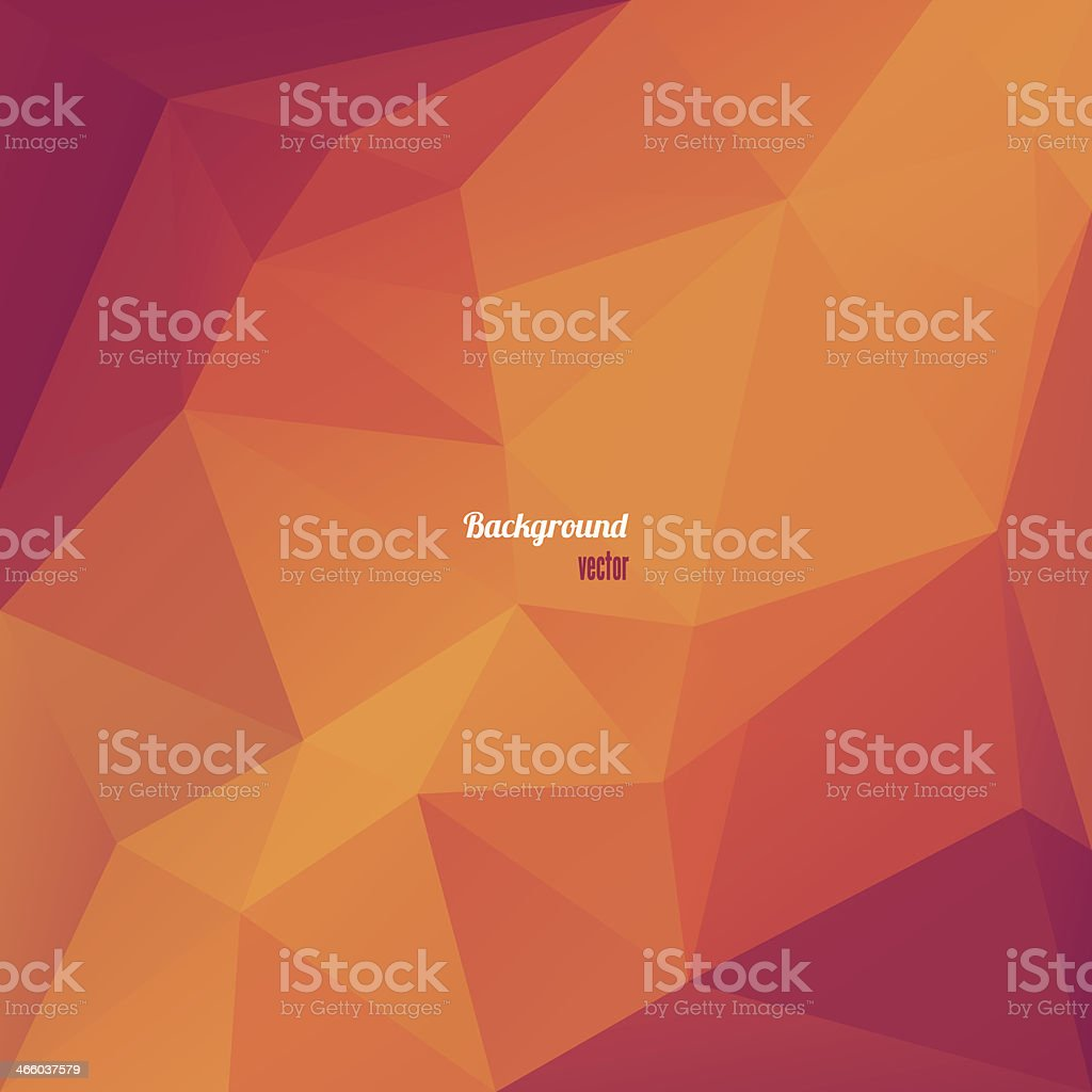 Abstract geometrical triangles in red and orange royalty-free abstract geometrical triangles in red and orange stock vector art & more images of abstract